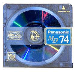 MD MiniDisc CD RW recordable inregistrabil inregistrari audio