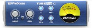Preamplificator de microfon inregistrari audio lampi tub saturat studio