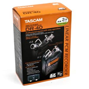 Tascam-DR 40 cutie inregistrari audio