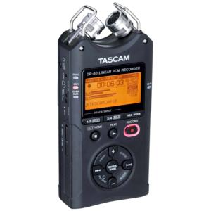 Tascam-DR 40 fata inregistrari audio
