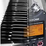 Tascam alesis recorder midi controller inregistrari home studio audio