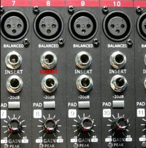 inregistrari audio cablu Y insert mixer 1