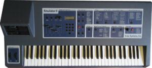 inregistrari audio sintetizator sintetizatoare analogic studio 12 emu-emulator-II