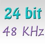 24 bit 48 khz