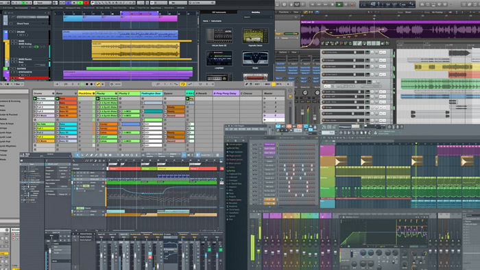 Software DAW - Cubase, Ableton, Pro Tools, Fruity Loops